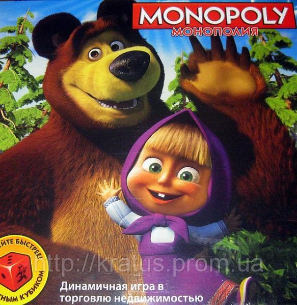 6156 Монополия «Маша и Миша»