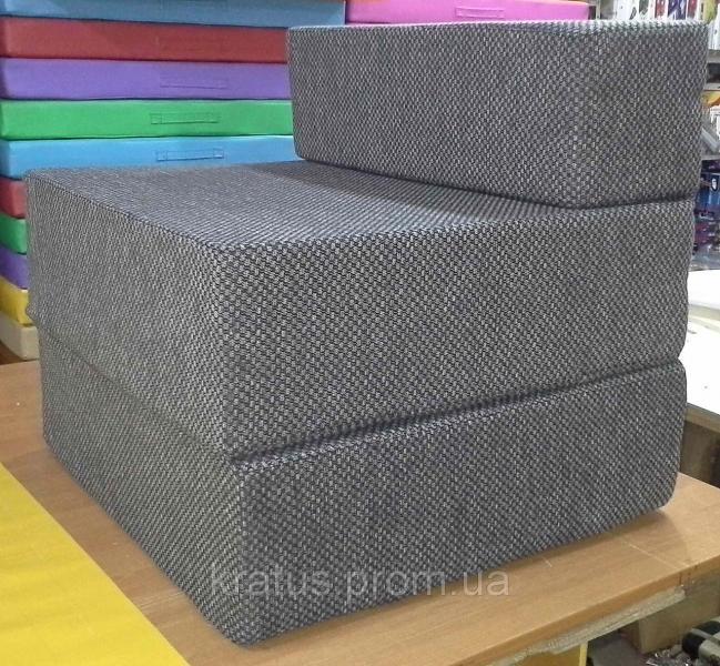 Фото  Кресло-кровать поролоновое бескаркасное 0,8х1,9м