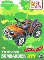 096 Коллекционный 3D пазл  «Квадроцикл»