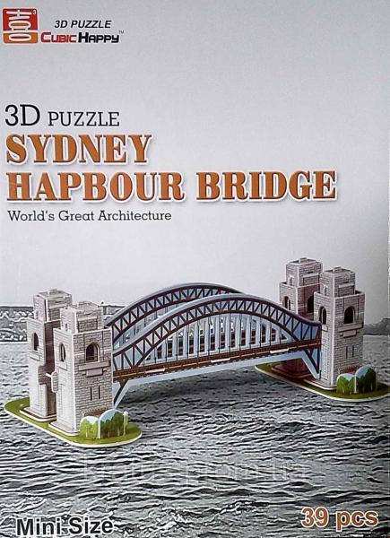 668-7 3D пазл  «Сиднейский мост»