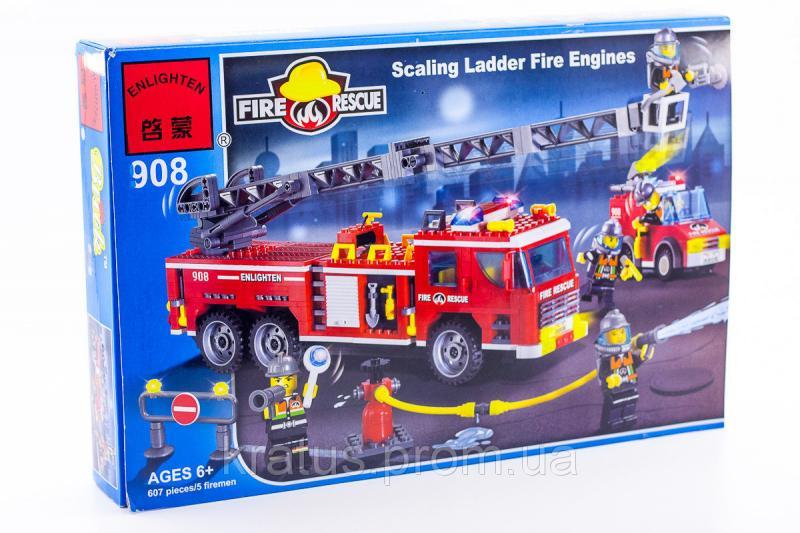 Фото Конструкторы, Конструкторы типа «Лего», Полиция. Пожарная охрана 908 Конструктор серии Brick
