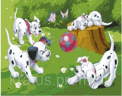 Фото Картины на холсте по номерам, Картины-раскраски по номерам (детские) GEX 5204