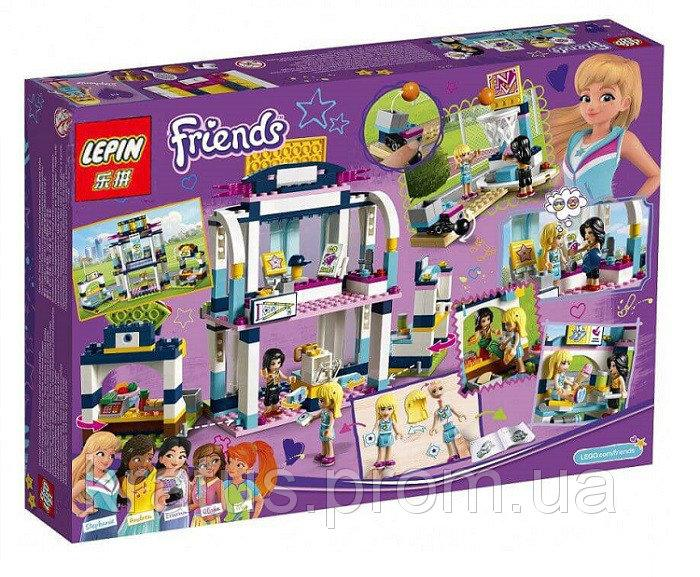 01061 Конструктор Lepin Френдс Спортивная арена для Стефани (аналог Lego Friends 41338)