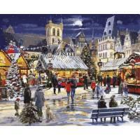 Фото Картины на холсте по номерам, Зима! Новый Год! Рождество! VP 999