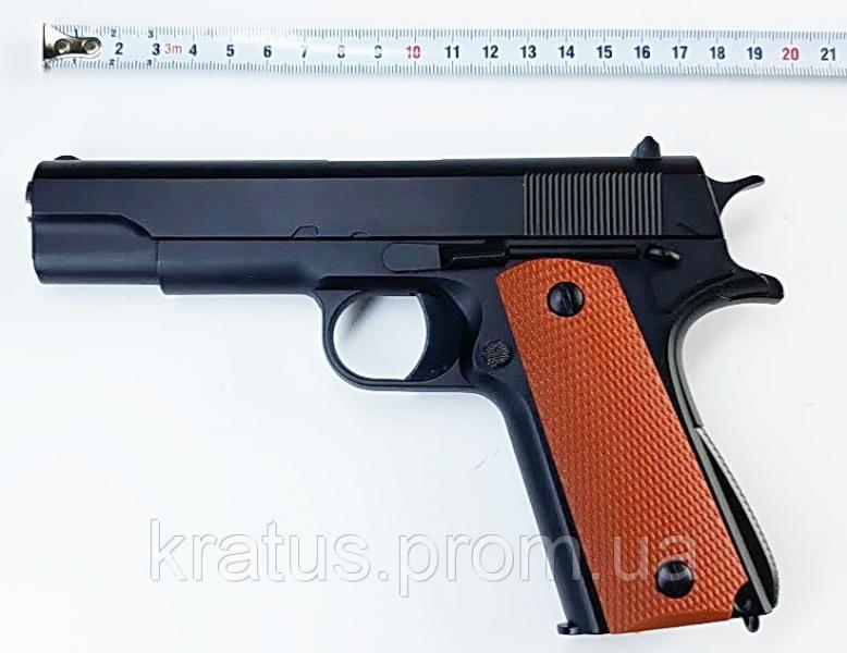 Пистолет металлический  J 19 (реплика Кольт 1911)