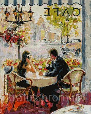 Фото Картины на холсте по номерам, Романтические картины. Люди VP873