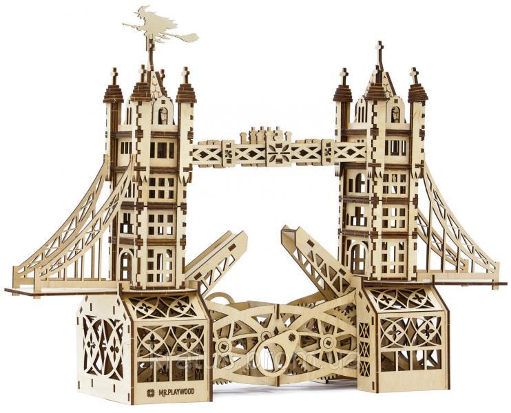 Тауэрский мост (механический деревянный конструктор)