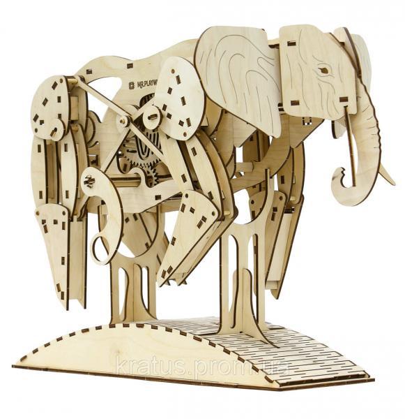 Слон (механический деревянный конструктор)