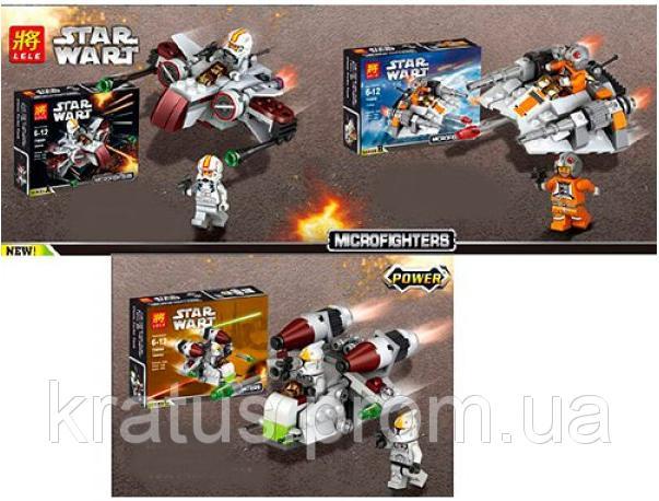 Фото Конструкторы, Конструкторы типа «Лего», Космос, Star Wars 79089 A, B конструктор серии Star Wart, 77-105 дет.  за 1шт.