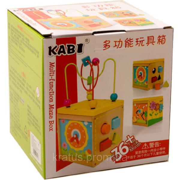 B 24523 Деревянная игрушка серпантинка