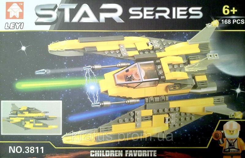 3811 серия «Star» «Космический корабль», 168 дет.