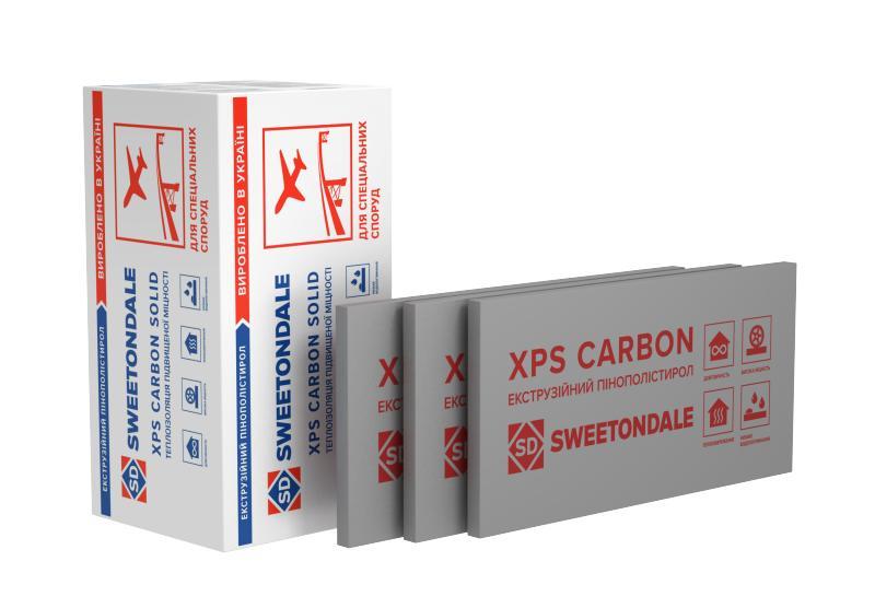 Экструзионный пенополистирол ТехноНИКОЛЬ XPS CARBON SOLID 700