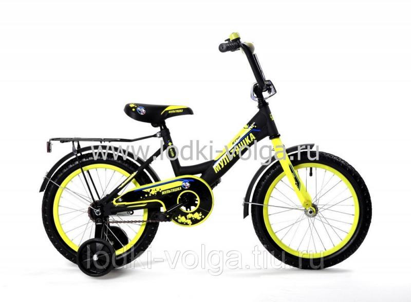 Велосипед МУЛЬТЯШКА 1405 14''; 1s (желтый)