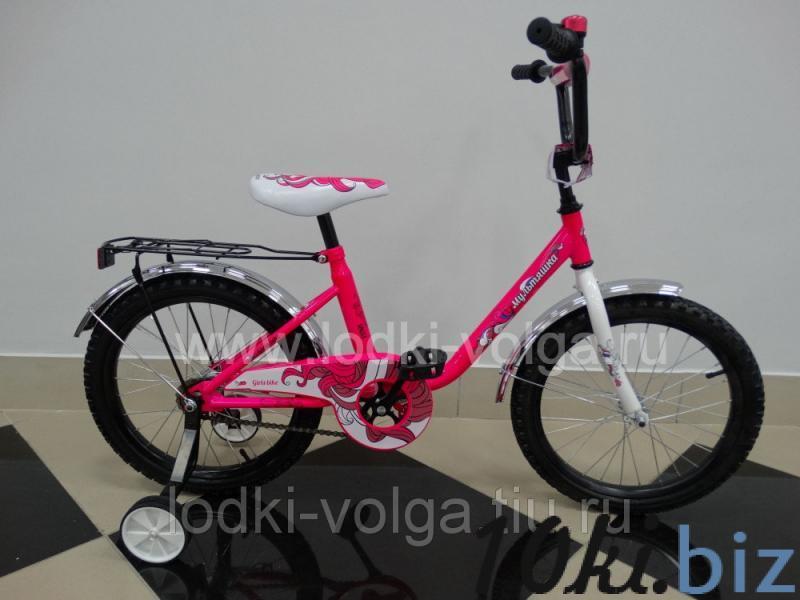 """Велосипед МУЛЬТЯШКА 1803 18""""; 1s (розовый) Детские велосипеды, беговелы купить в ТЦ «Порт»"""