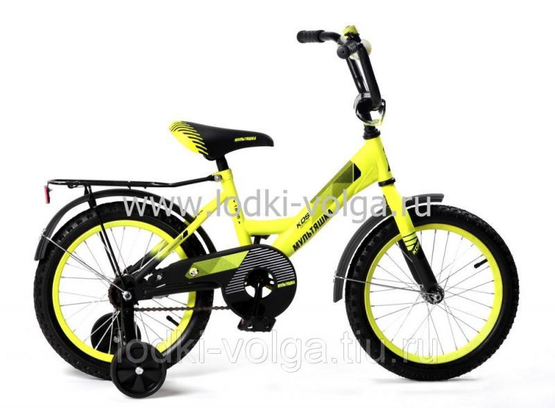 Велосипед МУЛЬТЯШКА 1805 18''; 1s (желтый)