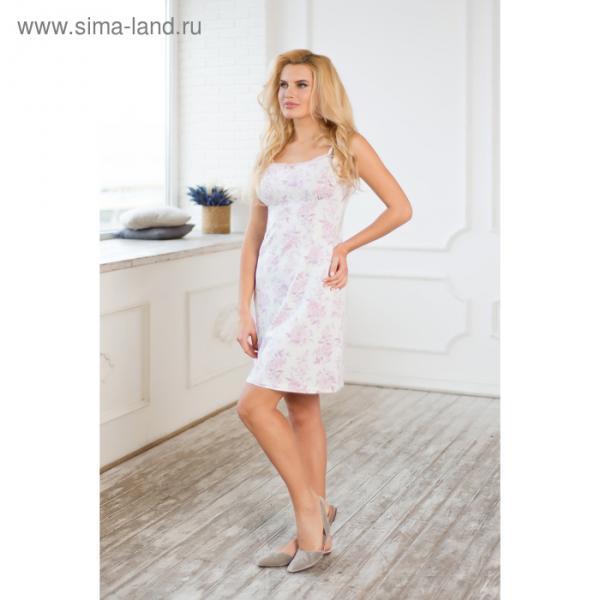 Сорочка женская AW17-MCUZ-159 Winter Garden цвет розовый, р-р 50-52