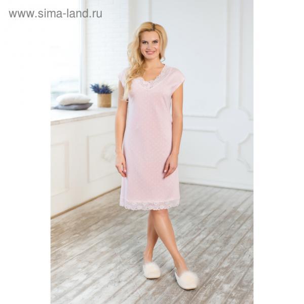 Сорочка женская AW17-MCUZ-162 Winter Garden цвет розовый, р-р 42-44