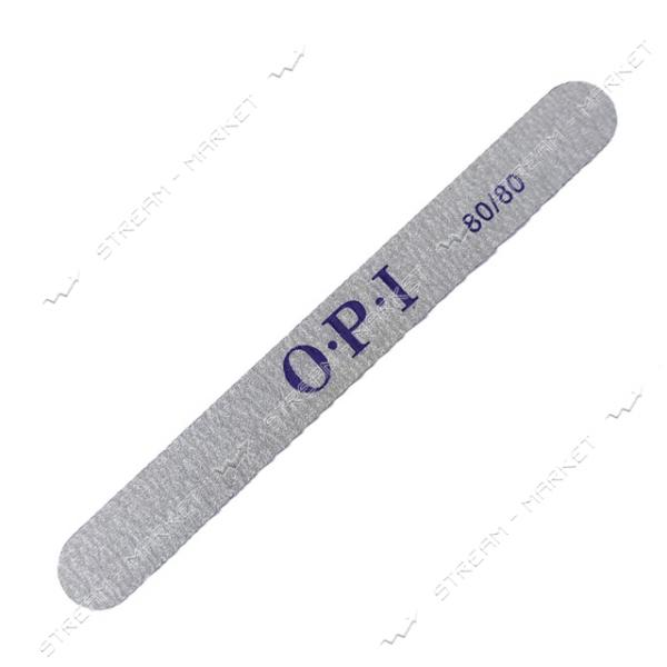 Пилка для ногтей OPI 80/80 прямая