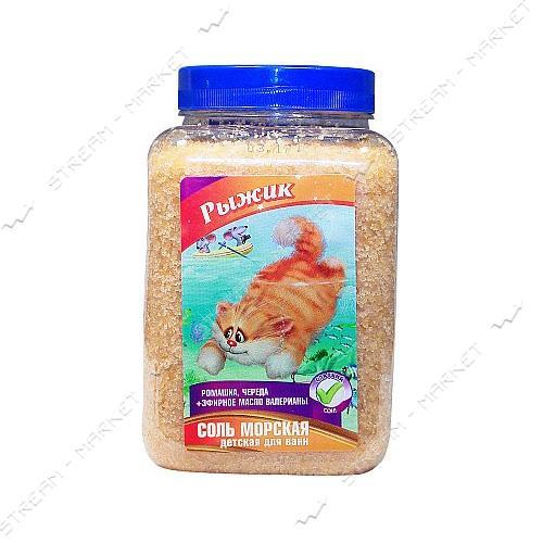 Соль морская Bioton Cosmetics Для купания детская Рыжик 750 мл