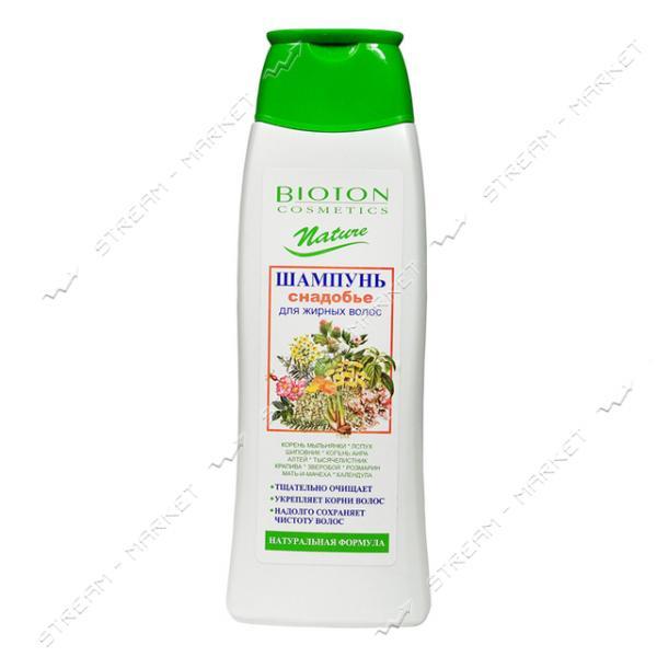 Шампунь-снадобье для жирных волос Bioton Cosmetics Nature 350 мл