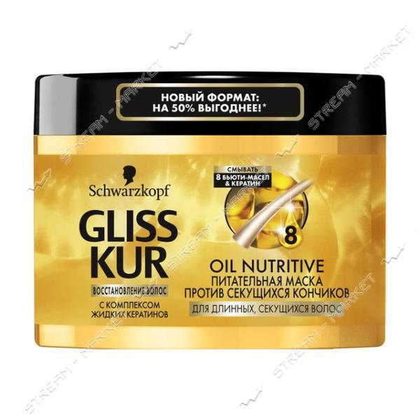 Gliss Kur Маска для длинных и секущихся волос Oil Nutritive 300мл