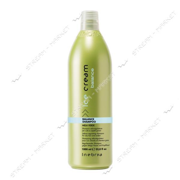 Шампунь для жирных волос и кожи головы Inebrya Balance 1000мл