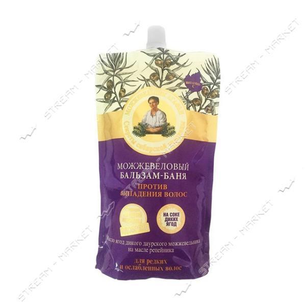 Бальзам-баня для волос Рецепты Бабушки Агафьи Против выпадения Можжевеловый 500 мл