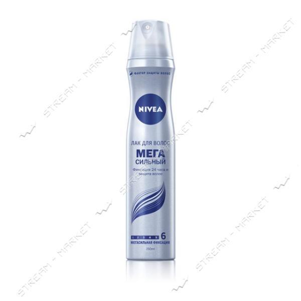 Лак для волос Nivea Мега сильный 250мл