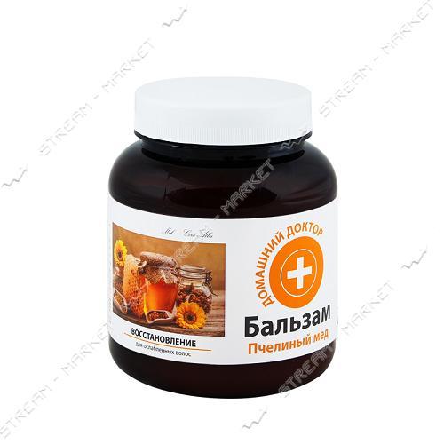 Бальзам для волос Домашний доктор Пчелиный мед Восстановление 480мл