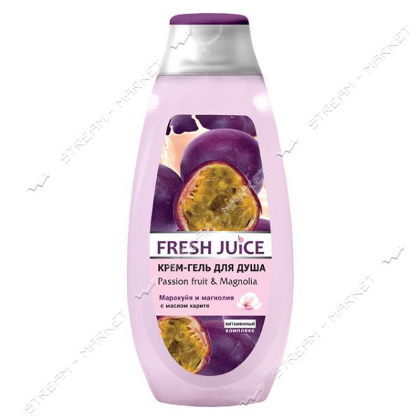 Крем-гель для душа Fresh Juice Passion Fruit & Magnolia 400мл
