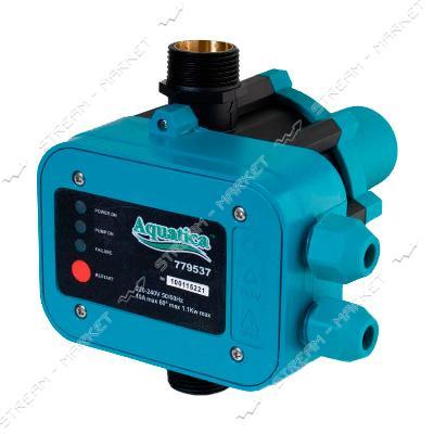 Контроллер давления электронный (без монометра, вертик.1, 1кВт d1') Aquatica 779537