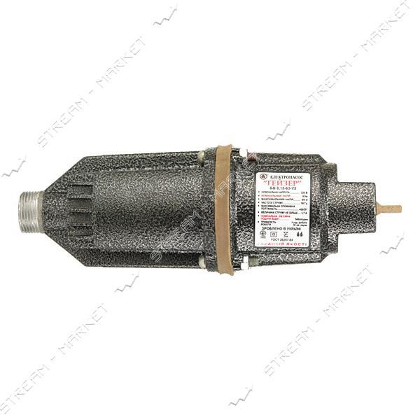 Насос вибрационный 'Гейзер' 2 клапана, нижний забор ( с гарантией ) (резьба под штуцер 3/4)