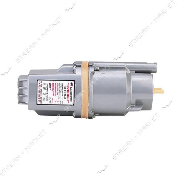 Насос вибрационный Дачник-2 2 клапана верхний забор
