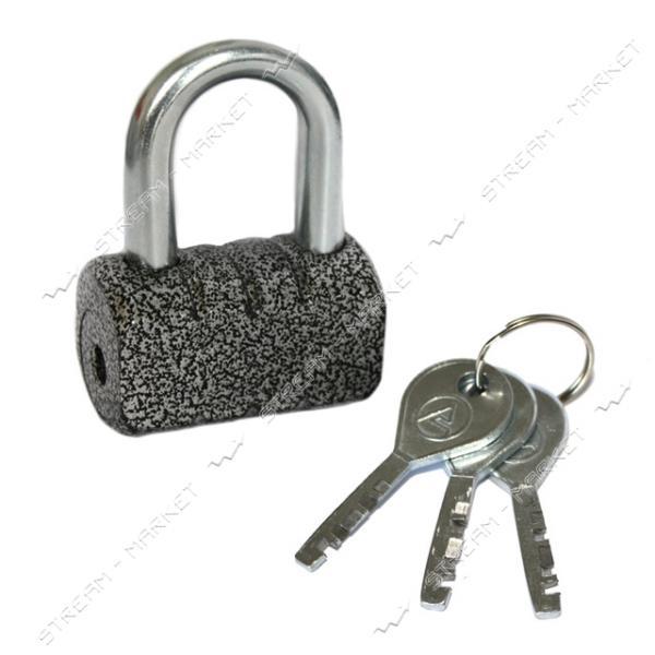 Замок навесной ASPECT ЗН-С-55 сталь, 3 ключа