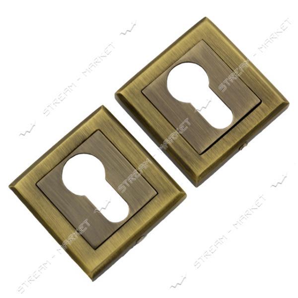Накладка под цилиндр квадрат Brillanti AB (бронза)