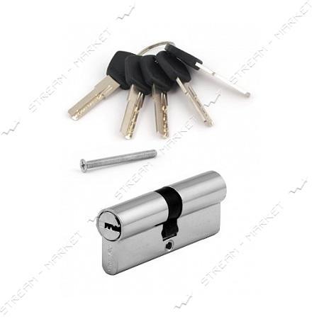 Секрет латунный Avers DM-60-CR 30/30 ключ/ключ 5 лазер. кл