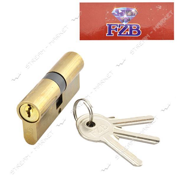 Секрет цинковый 13-35 FZB 60 30/30PB ключ/ключ 3 англ. кл