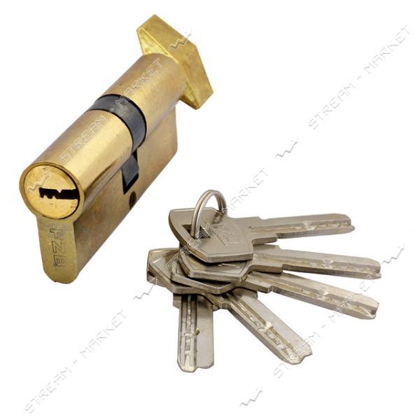 Секрет цинковый 13-38 FZB 70 35/35PB поворот/ключ 5 лазер. кл