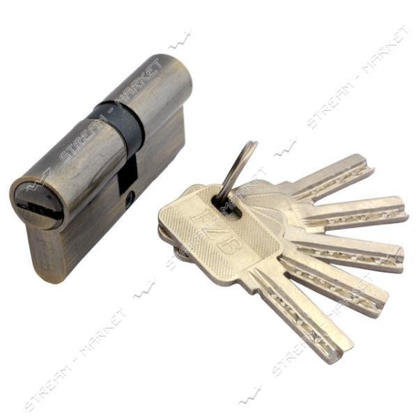 Секрет цинковый FZB/SOFIA 13-07 60 30/30AB лазерный ключ/ключ 5 ключей бронза