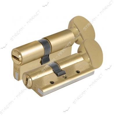 Секрет стальной KALE 164DBNEM 90-G 45/45 ключ/поворот 5 лазер. кл