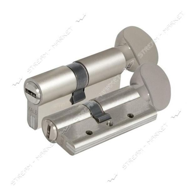 Секрет стальной KALE 164DBNEM 90-S 45/45 ключ/поворот 5 лазер. кл