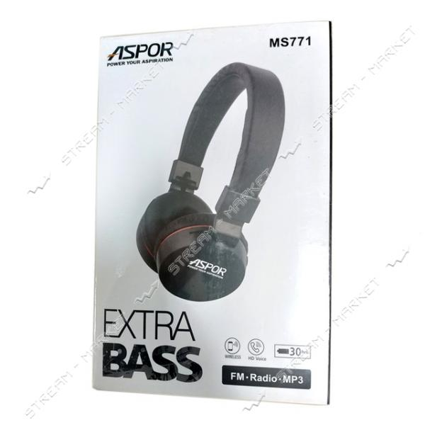 Наушники Bluetooth Aspor MS771