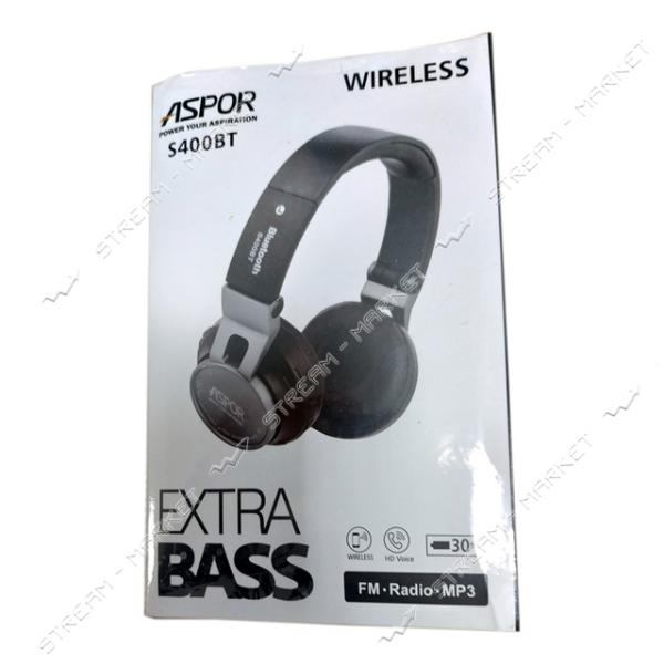 Наушники Bluetooth Aspor S400BT