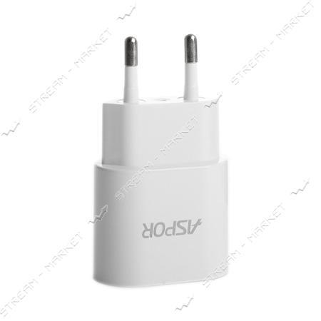 Сетевое зарядное устройство Aspor А818plus блочек