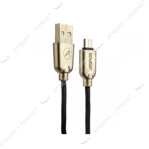 Кабель Aspor A116 Nylon Micro USB 1.2м цвета в ассортименте