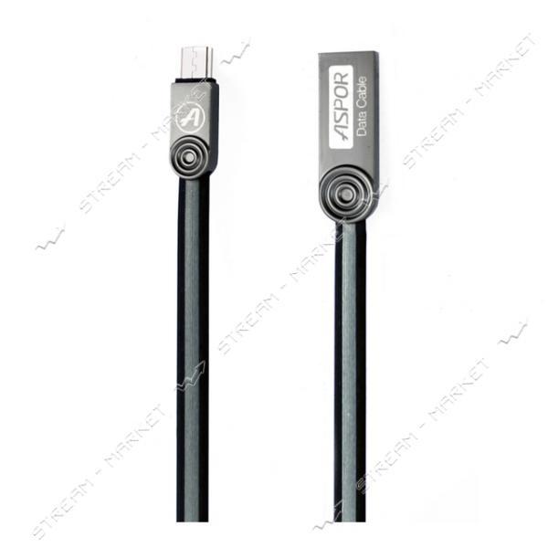 Кабель Aspor AC-15 Micro USB 1.2м цвета в ассортименте