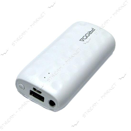 Remax портативное зарядное устройство Proda Lovely, 2USB, 5000mAh, цвет белый