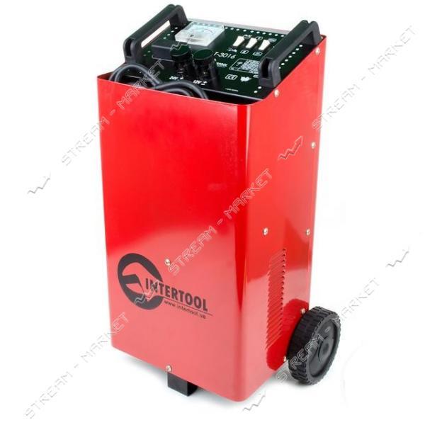 Пускозарядное устройство INTERTOOL AT-3016 12В-24В, 230В, 600А, 50/60Гц, 1.2кВт
