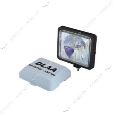 Фары дополнительного света DLAA 886 BW/H3-12V-55W/136x116mm/крышка