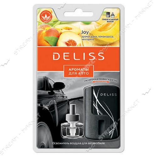 DELISS Ароматизатор воздуха для автомобиля Joy комплект 8мл